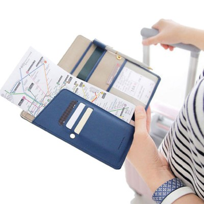Anti-skimming passport wallet travel travelling ladies style degree sg Singapore