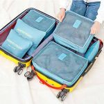 travel luggage organizer 6pc set style degree sg