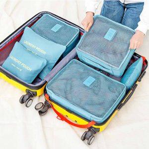 travel luggage organizer 6pc set style degree sg