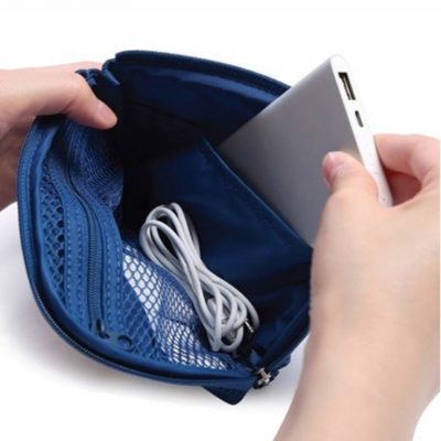 Essential Digital Organizer pouch travel charger accessories style degree sg