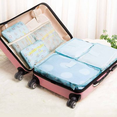 Adorable Pets Luggage Travel Organizer Set Organiser pouch style degree sg singapore