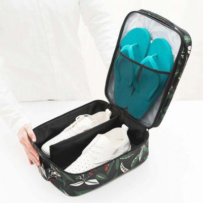 le fleur shoe bag travel organiser organizer style degree singapore sg