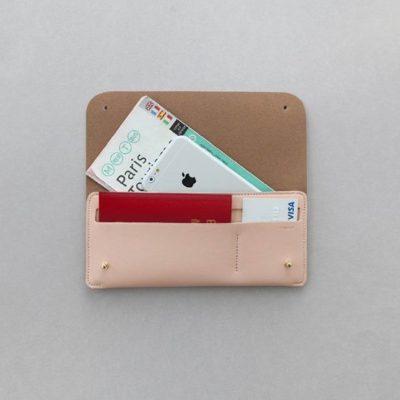 Envelope Long Clutch Wallet