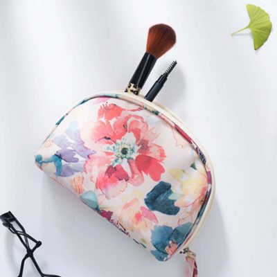 le fleur curved cosmetic organizer organiser travel pouch style degree sg singapore
