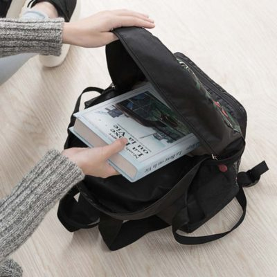 le fleur foldable backpack travel bag bags style degree sg singapore