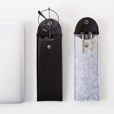 minimalist pen holder pens pencil case pouch stationary style degree sg singapore