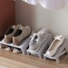 Double Layer Shoe Rack Organizer Shoes Holder Box Style Degree Sg Singapore