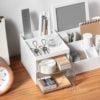 Essentials Desk Organizer Organiser Drawer Stationery Makeup Cosmetics Holder Style Degree Sg Singapore
