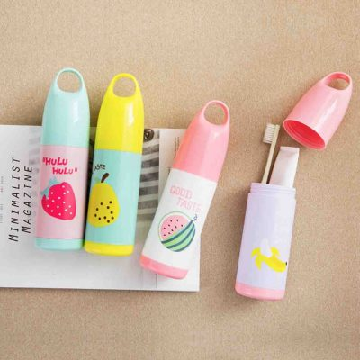 Fruitly Toothbrush toothpaste toiletries holder organiser organizer style degree sg singapore