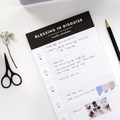 blessing in disguise planner diary calendar stationery scheduler style degree sg singapore