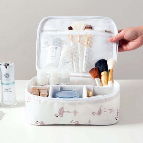 multi compartments travel cosmetics cosmetic organizer organiser style degree sg singapore