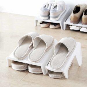 Double Layer Shoe Rack Organizer Shoes Holder Box Style Degree Sg Singapore