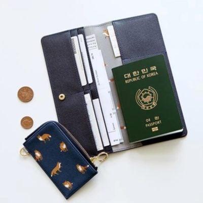 Fauna Passport Wallet, travel wallet, passport holder, multi compartments, travel organiser, organizer, travel organization, style degree, singapore, sg