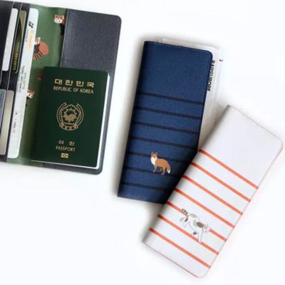 Fauna Passport Wallet Travel Essentials Holder Style Degree Sg Singapore