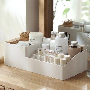 cosmetic cosmetics lipstick holder table desk organizer organiser make up home decor style degree sg singapore