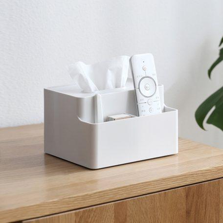 Tissue Multi Holder Box cover home deco living room organizer organiser style degree sg singapore