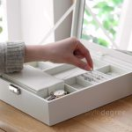 The Elegance Jewellery Box Accessories Rings Watch Holder Organizer Organiser style degree sg singapore
