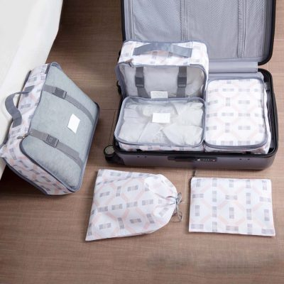 The Modern Luggage travel prganizer set organiser packing cubes bags style degree sg singapore