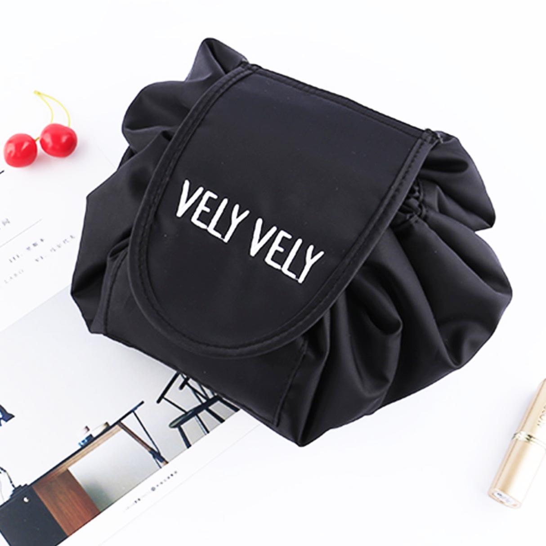 vely vely cosmetic drawstring bag pouch organizer organiser travel style degree sg singapore