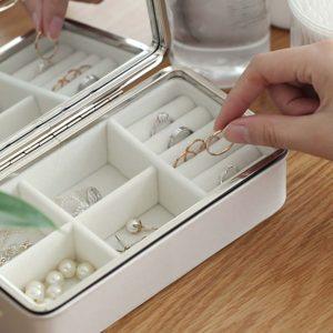 The Elegance Jewellery Box Accessories Rings Watch Holder Organizer Organiser style degree sg singapore