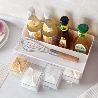 Condiment & Seasoning Organizer
