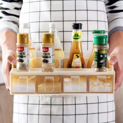Condiment Seasoning Spice Container Holder Storage Spices Kitchen Cook Cooking Style Degree Sg Singapore