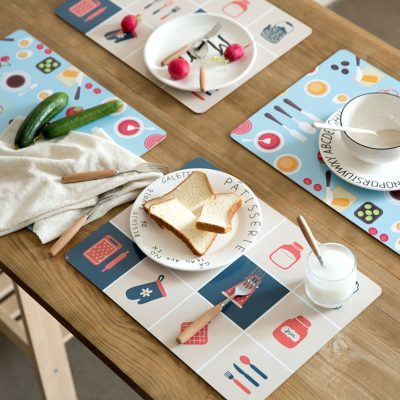 Table mats, stain proof table mat, water resistant table mat, dining mats, table mat designs, dining table, sg food, Lively Table Mat style degree sg singapore