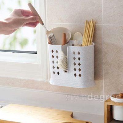 Everyday Utensils Holder, hanging holder, fork and spoons holder, kitchen utensils, hanging holder, multi holder, style degree, singapore, sg
