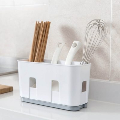 Essentials Hanging Utensils Holder, fork and spoon holder, utensils storage organiser, kitchen organiser, organizer, hanging kitchen organiser, style degree, singapore, sg