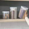 Quadrant Food Holder airtight food storage container divider cereal beans snacks pantry style degree sg singapore