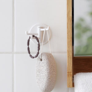 Triple Wall Holder, multifunctional, multi holder, kitchen holder, wall holder, triple hooks, style degree, singapore, sg