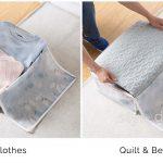 Clothes Quilt Blanket Clothes Storage Bag Box Wardrobe Closet Style Degree Sg Singapore