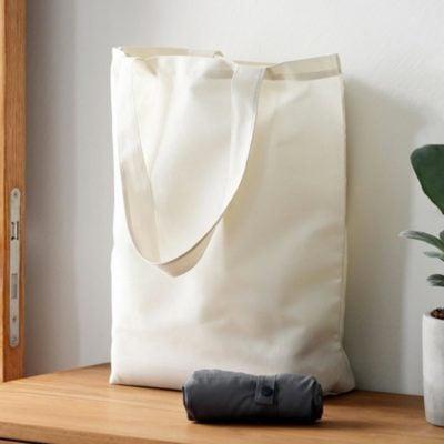Light Foldable Tote Bag, travel tote bag, foldable bag, minimalist style, splash proof, lightweight, style degree, singapore, sg