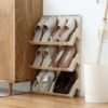 Vertigo Shoe Organizer (2pc Set), wall organiser, shoe organisation, shoe cabinet, shoe holder, shoe organization, organisation, style degree, singapore, sg
