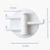 Triple Wall Holder, multifunctional, multi holder, kitchen holder, wall holder, triple hooks, style degree, singapore, sg