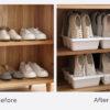 Tidily Footwear Organizer, shoe organiser, shoe cabinet, shoe organisation, organization, decluttering, home improvement, style degree, singapore, sg
