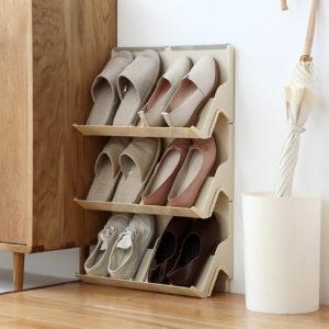 Vertigo Shoe Organizer (2pc Set), wall organiser, shoe organisation, shoe cabinet, shoe holder, shoe organization, organisation, style degree, singapore, sg