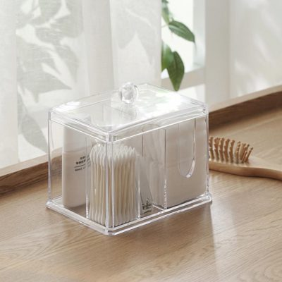 Makeup Removal Box Storage Organizer Organiser Cosmetics Style Degree Sg Singapore