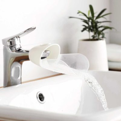 Waterfall Tap Faucet Extender Children Kids Baby Washing Hands Basin Bathroom Toilet Kitchen Style Degree Sg Singapore