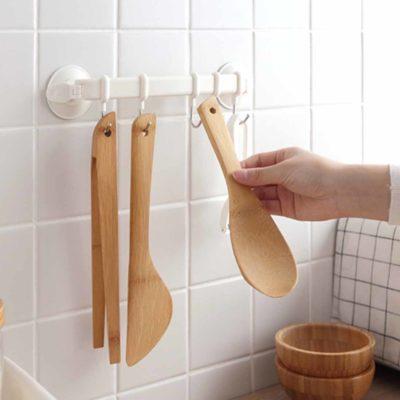 Adjustable Wall Hanger, Kitchen wall hanger, kitchen holder, style degree, multi wall holder, wall hanging hooks, multi hook. singapore sg