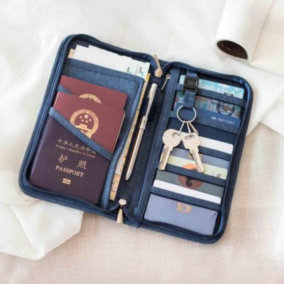 Arizona Passport Organizer Travel Organiser Holder Pouch Wallet Slot Protector Bag Style Degree Sg Singapore