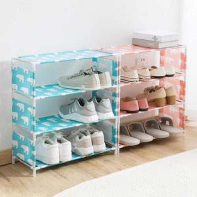 Homely Shoe Rack Organizer, shoe cabinet, shoes holder, home, double layer, shoe organisation, organization, organiser, organizer, style degree, singapore, sg
