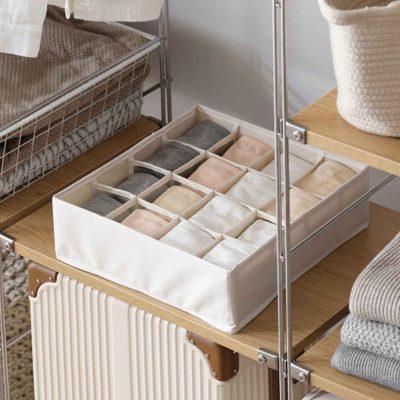 Essentials Undergarment Closet Organizer Lingerie Wardrobe Cupboard Drawer Organiser Style Degree Sg Singapore