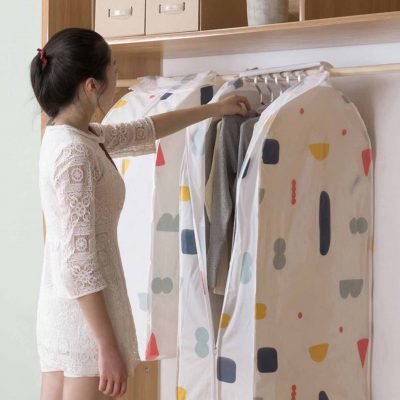 Nature Hanging Clothes Cover Dust Bag Style Degree Sg Singapore