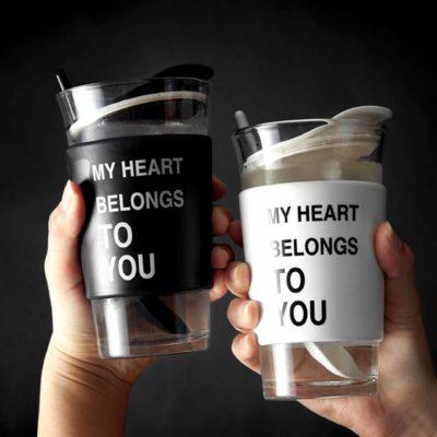 Modernism Glass Mug Cup Thermal Flask Tumbler Style Degree Sg Singapore