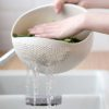 Greens & Rice Strainer, colander, kitchen, drain, water, household accessories, home, cooking equipment, tool, style degree, singapore, sg