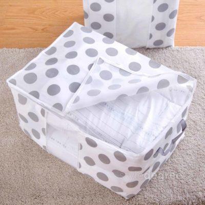 Clarity Quilt & Clothes Storage Bag, bedsheet storage bag, closet, wardrobe, linen, comforter, blanket storage, style degree, singapore, sg