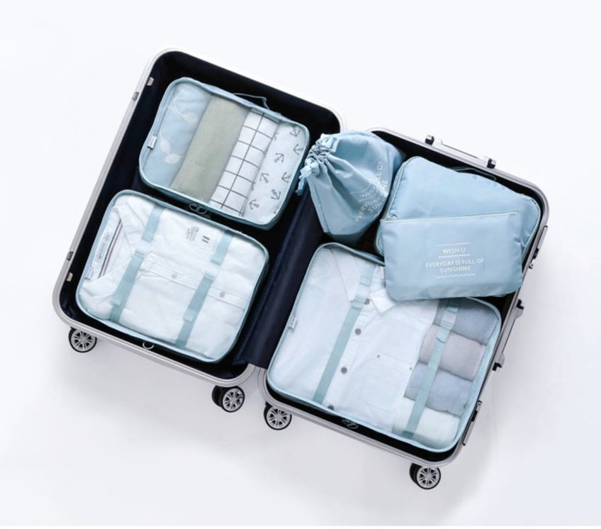 A Guide To Packing Using Travel Organizers