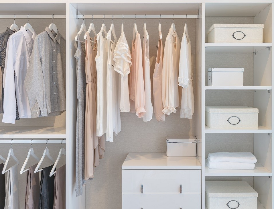 Walk-in Wardrobe Closet Organization Ideas For HDB & Condo Singapore Homes
