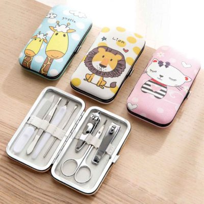 Zookeeper Nail Clipper Filer Grooming Eyebrow Trimmer Set Box Style Degree Sg Singapore